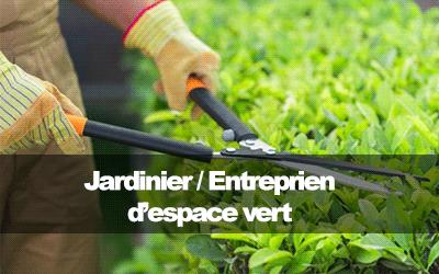 Jardinier / Entretien d'espace vert
